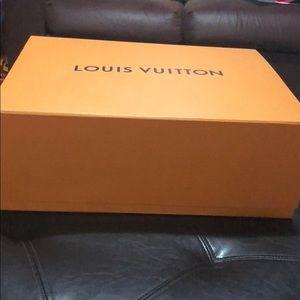 Authentic large LV box